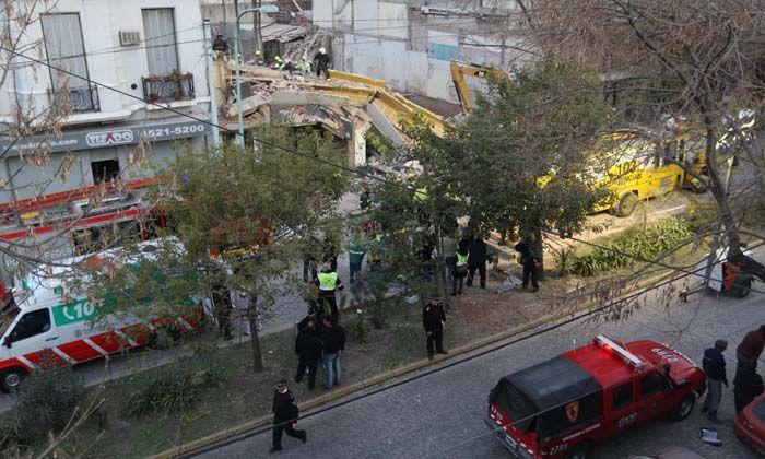 El ingeniero de la obra lindera negó haberse fugado y dijo que Macri miente