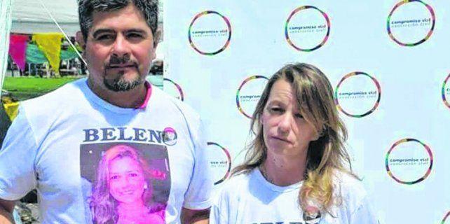 Dolor. Los padres de Belén denunciaron al conductor que provocó la muerte de su hija