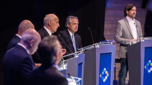 El cruce entre Fernández y Macri se robó la atención en el debate