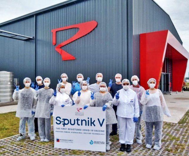 Las vacunas producidas por el laboratorio Richmond superaron el control de calidad del ruso Centro Gamaleya.