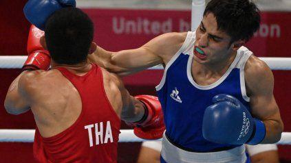 Cuello cumplió una digna participación olímpica y cayó ante un rival muy experimentado.