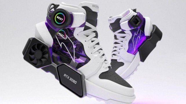 PC Master Race, las primeras zapatillas con hardware incorporado
