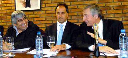 Para Moyano, Scioli sería buen candidato si Kirchner no se presenta