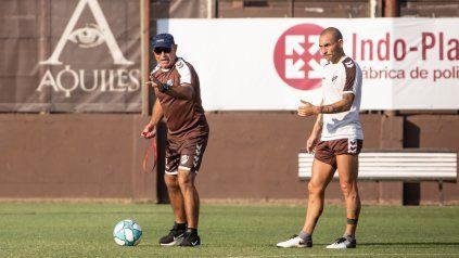 Juan Manuel Llop dirigió a Platense en el torneo que devolvió a los calamares a primera división después de 22 años.