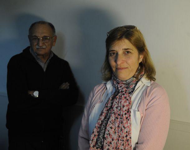 Angel Paniagua y Bárbara Gómez son bahai rosarinos. (Foto: A. Celoria)