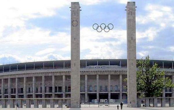 Emblemático. El estadio de Berlín fue inaugurado por Hitler con las olimpíadas de 1936.