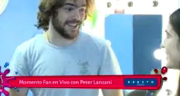 Peter se emocionó hasta las lágrimas al ver un video que le grabo Tini.