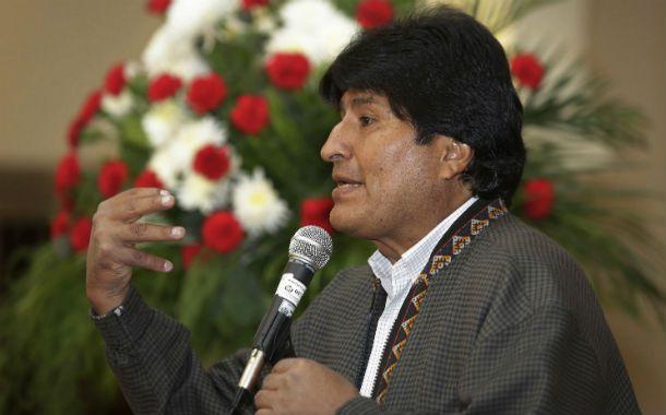 Histórico reclamo. El presidente Evo Morales llevó hasta el tribunal de La Haya el reclamo marítimo de su país.