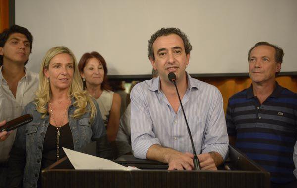Pablo Javkin sacó más de 56 mil votos como precandidato a intendente de Rsoario.