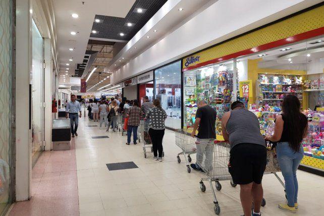 La demanda saturó a los sitios de venta on line de supermercados