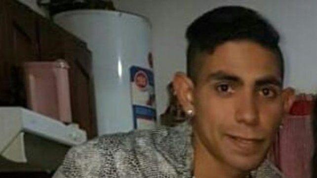 Cristian. El joven de 22 años está desaparecido desde el martes pasado.