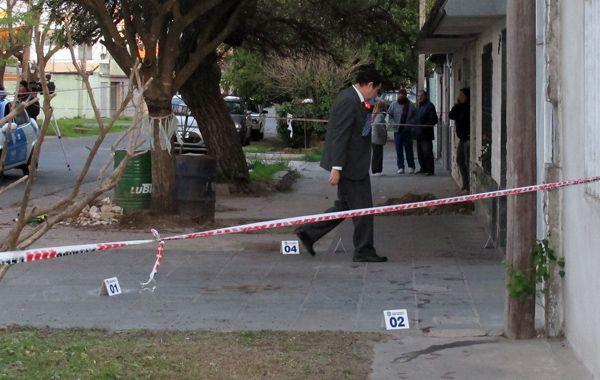 La casa donde sucedió el trágico hecho en Riobamba al 4300.
