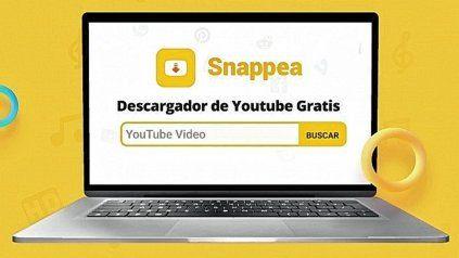 Snappea, el convertidor de YouTube online por excelencia