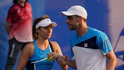 Podoroska y Zeballos, los últimos tenistas nacionales que seguían en carrera en Tokio, fueron eliminados por los australianos Ashleigh Barty y John Peers.