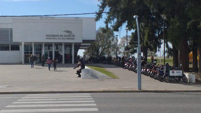 El hospital Dr Gutiérrez en Venado Tuerto trabaja al límite de su capacidad.