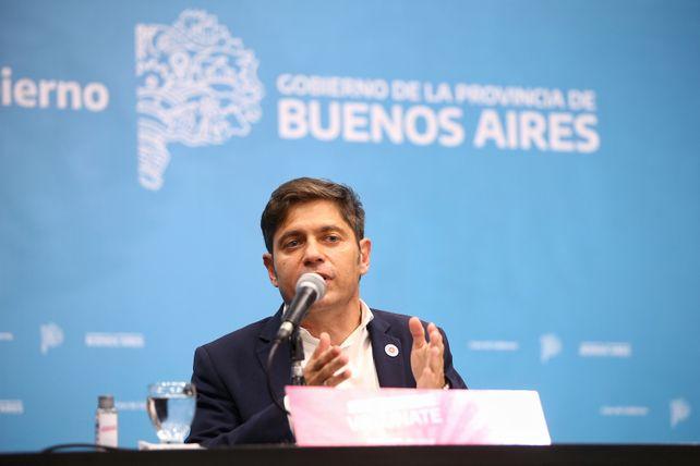 El gobernador de la provincia de Buenos Aires