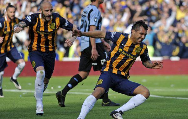 Montoya festeja su gol