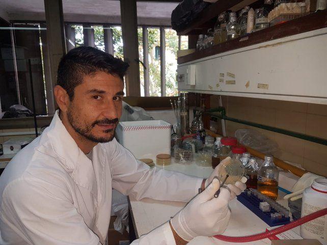 Formación de excelencia. El investigador Guillermo Repizo valoró la capacitación local.