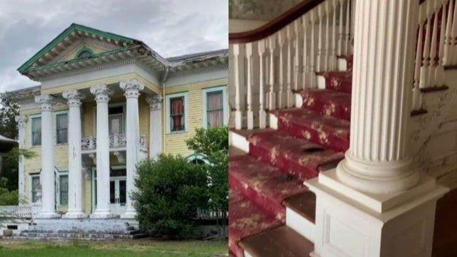 Una casa abandonada es viral en TikTok y despierta dudas: ¿está embrujada?