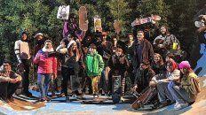 Colonia Avellaneda arma su base de skate