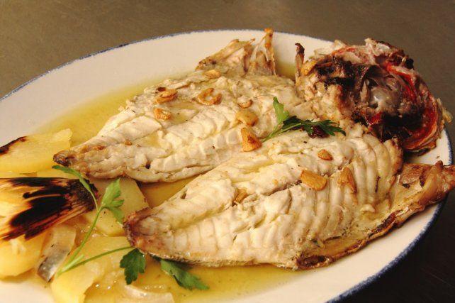 Viva el pescado! A la plancha, asado, frito o rebozado