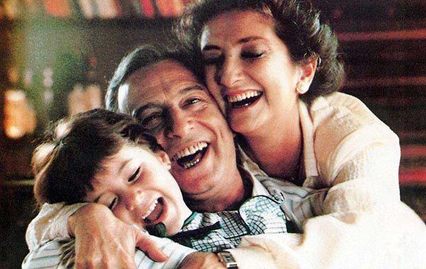 La actriz Norma Aleandro en el relanzamiento de la película de 1985.