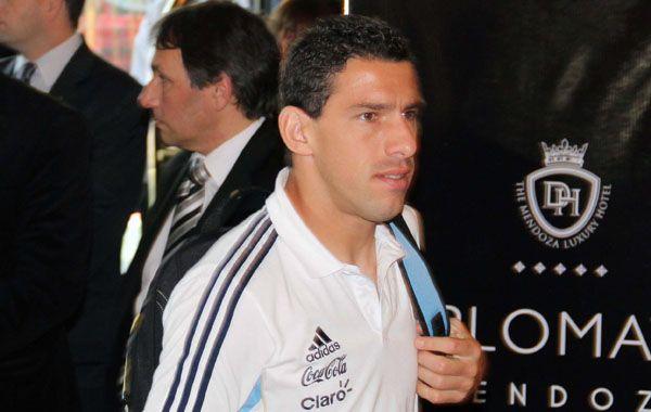 Out. Maximiliano Rodríguez se pierde el partido de eliminatorias de la selección.