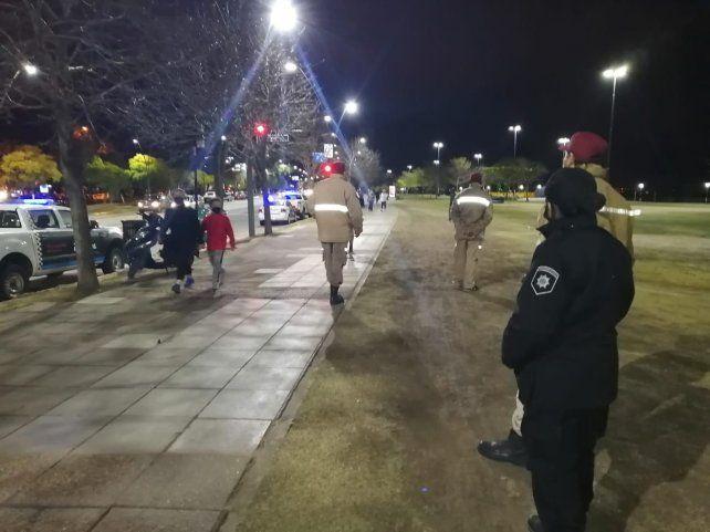 Corriendo. La GUM observa a los amantes del ejercicio.