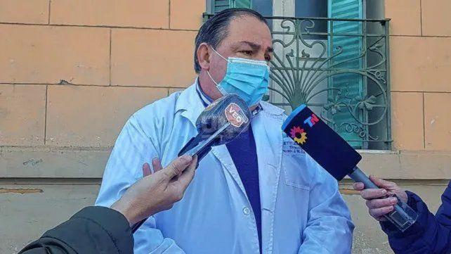 l director del Hospital Cullen de Santa Fe