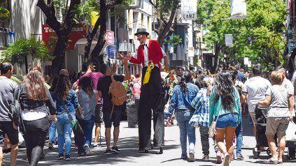 El centro de la ciudad mantendrá su actividad normal este fin de semana.