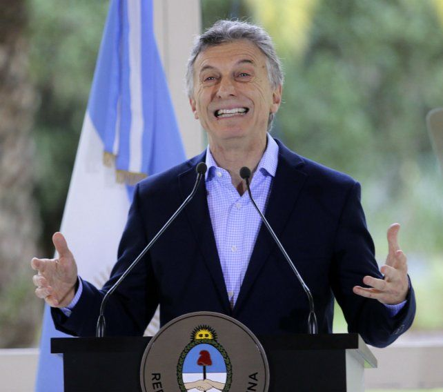 Alivio. Macri reconoció que las dificultades de los últimos meses trajeron mucha incertidumbre.