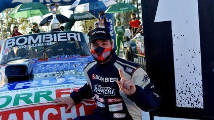Bonelli cumple 130 carreras en Rafaela y lo festejó ayer con su primera pole position.