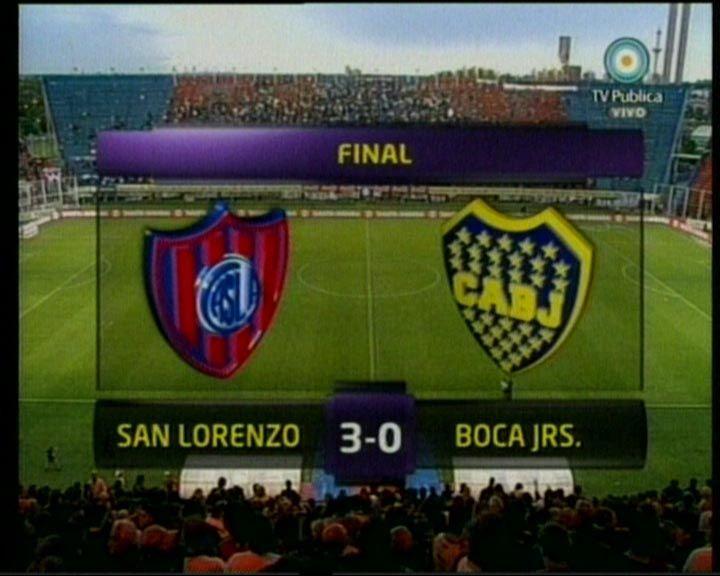 San Lorenzo goleó a Boca y sueña con un lugar en la Copa Libertadores