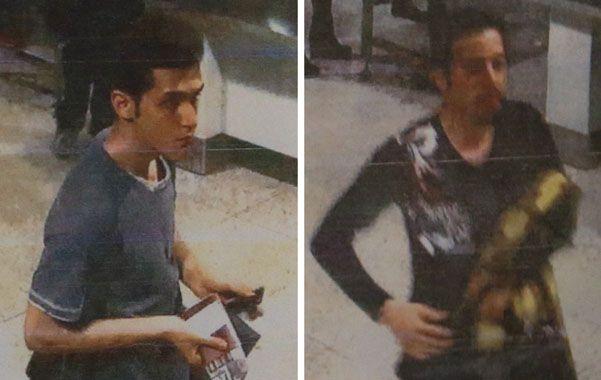 Dos iraníes con pasaportes falsos. Pouria Nour Mohammadi Mehrdad (izq.) y Delavar Seyed Mohammadreza.