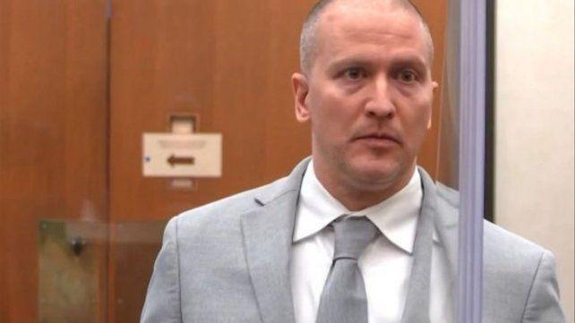 Condenado. Dereck Chauvin fue acusado por la muerte de George Floyd el 25 de mayo de 2020.