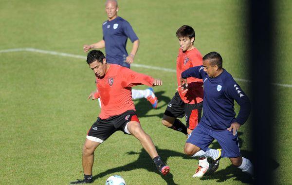 El entrenador Alfredo Berti busca la puesta a punto del equipo.