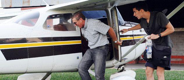 Víctima. Raúl Lozada al volver de Esquina (Corrientes)