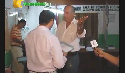El presidente del Concejo Deliberante de Candelaria agredió brutalmente a un periodista