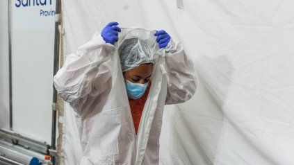Rosario superó las 1.100 muertes por coronavirus en lo que va del año