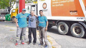 Oficio. Julio Cambero, Miguel Angel Octavo y Luis Cardozo, tres recolectores con cientos de historias.
