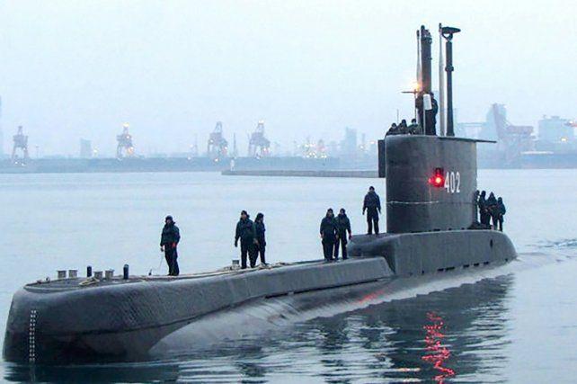 El submarino indonesio Nanggala