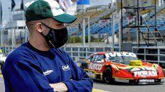 Martín Ponte deberá mirar la carrera en San Juan desde afuera. Volverá en Posadas.