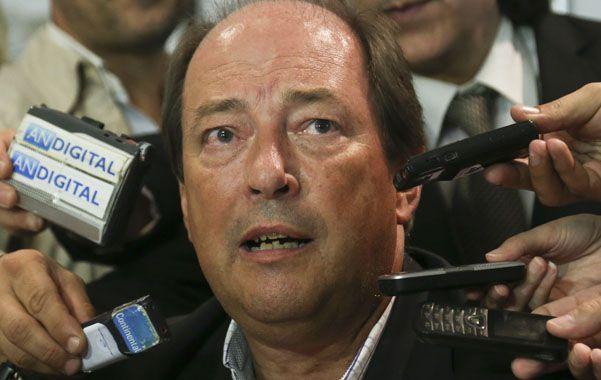 candidato. Sanz advirtió sobre la fortaleza electoral del kirchnerismo.