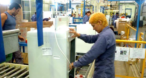 La fabricación de artefactos de línea blanca se multiplicó por cuatro