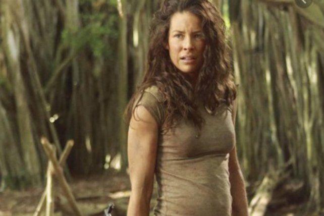 La actriz canadiense Evangeline Lilly interpretó a Kate en la serie Lost.
