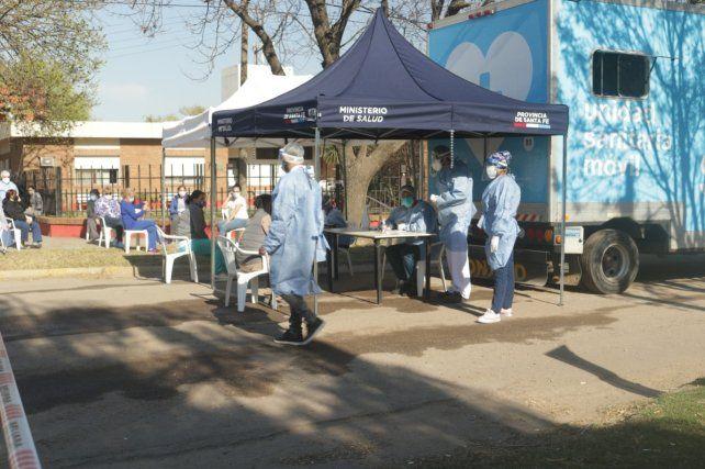 El programa Detectar Federal desembarcó ayer en Rosario.