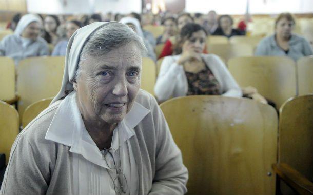"""Poder social. La hermana Pelloni aseguró que los delitos complejos """"generan necesariamente connivencias"""". (Foto: G. de los Ríos)"""
