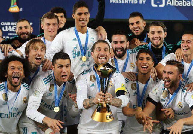 Cristiano Ronaldo guió al Real Madrid a su sexto título mundial
