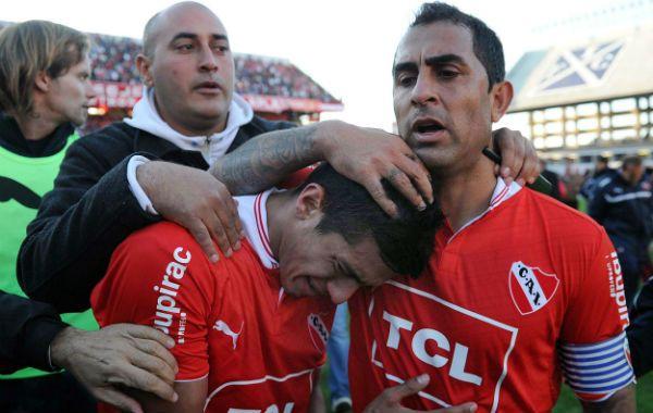 La desazón de los jugadores de Independiente