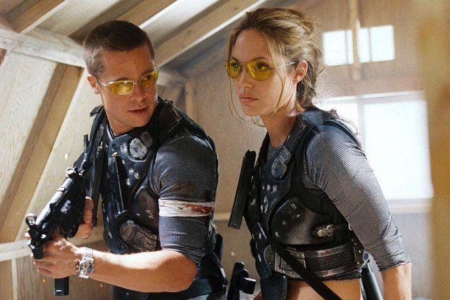 """Pitt y Jolie se enamoraron en la filmación de """"Sr. y Sra. Smith""""."""